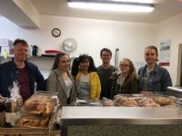 P16 students work experience at the Wild Goose Cafe