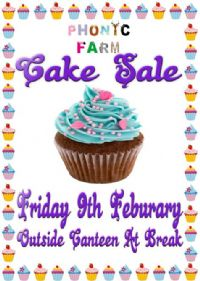Bake Sale - Friday 9 February